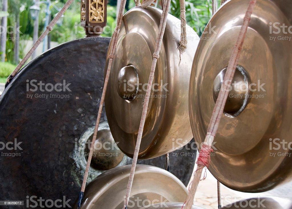 Gamelan Musical Instrument stock photo