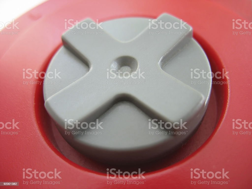 gamepad detail royalty-free stock photo