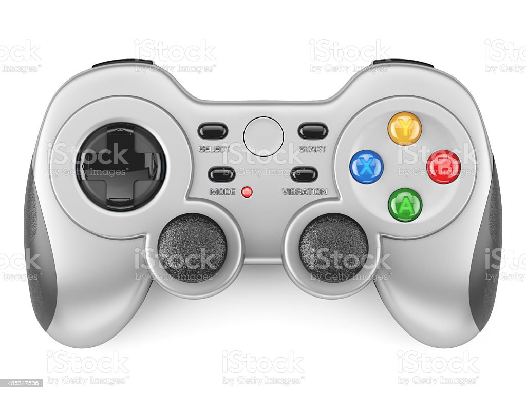 Gamepad isolated stock photo