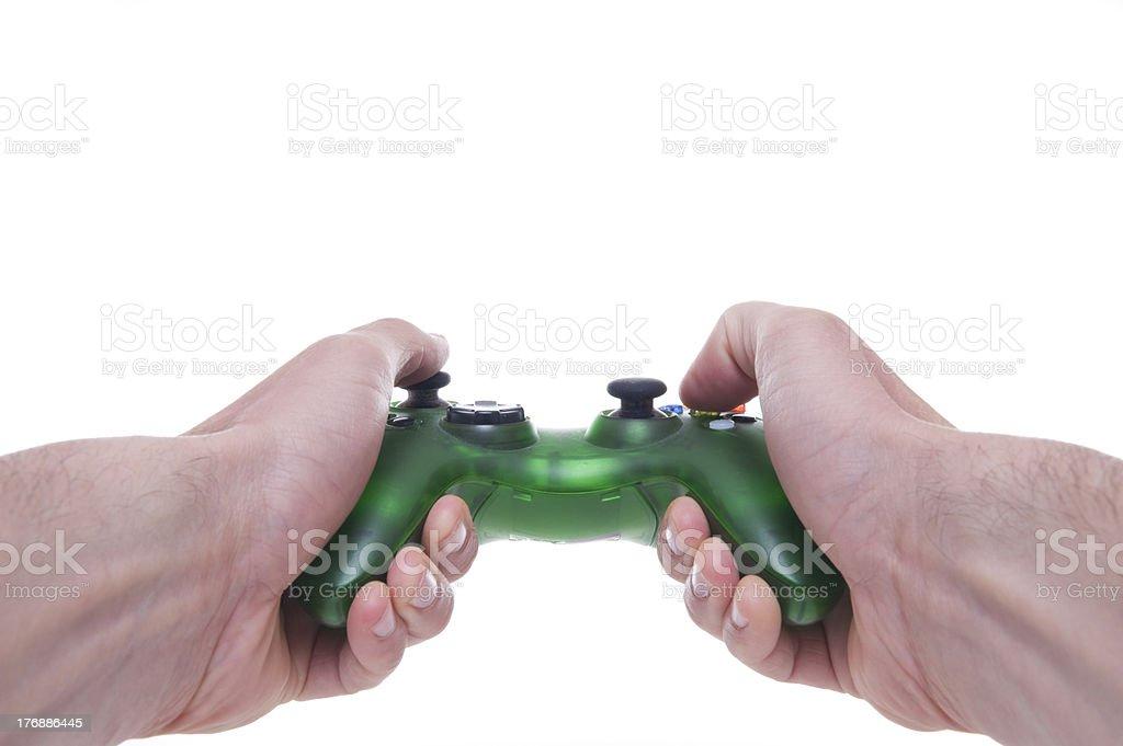 Gamepad -Joystick - Joypad royalty-free stock photo