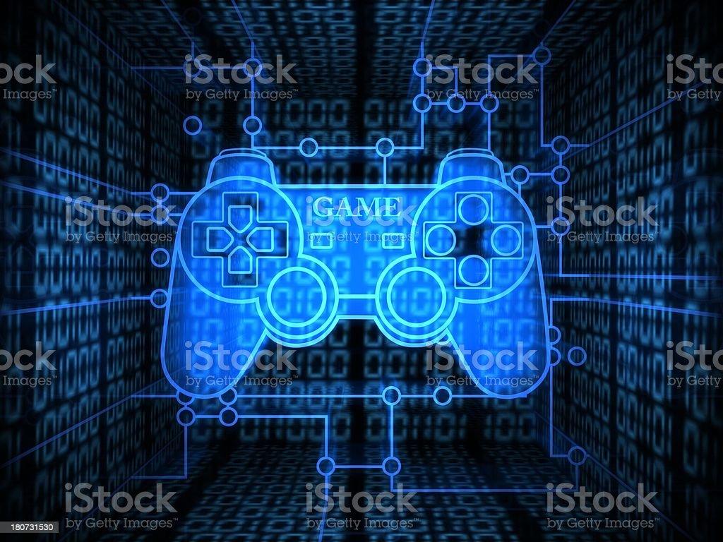 Gamepad royalty-free stock photo
