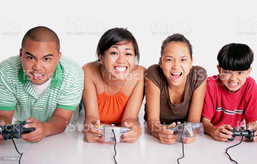 Gamers stock photo
