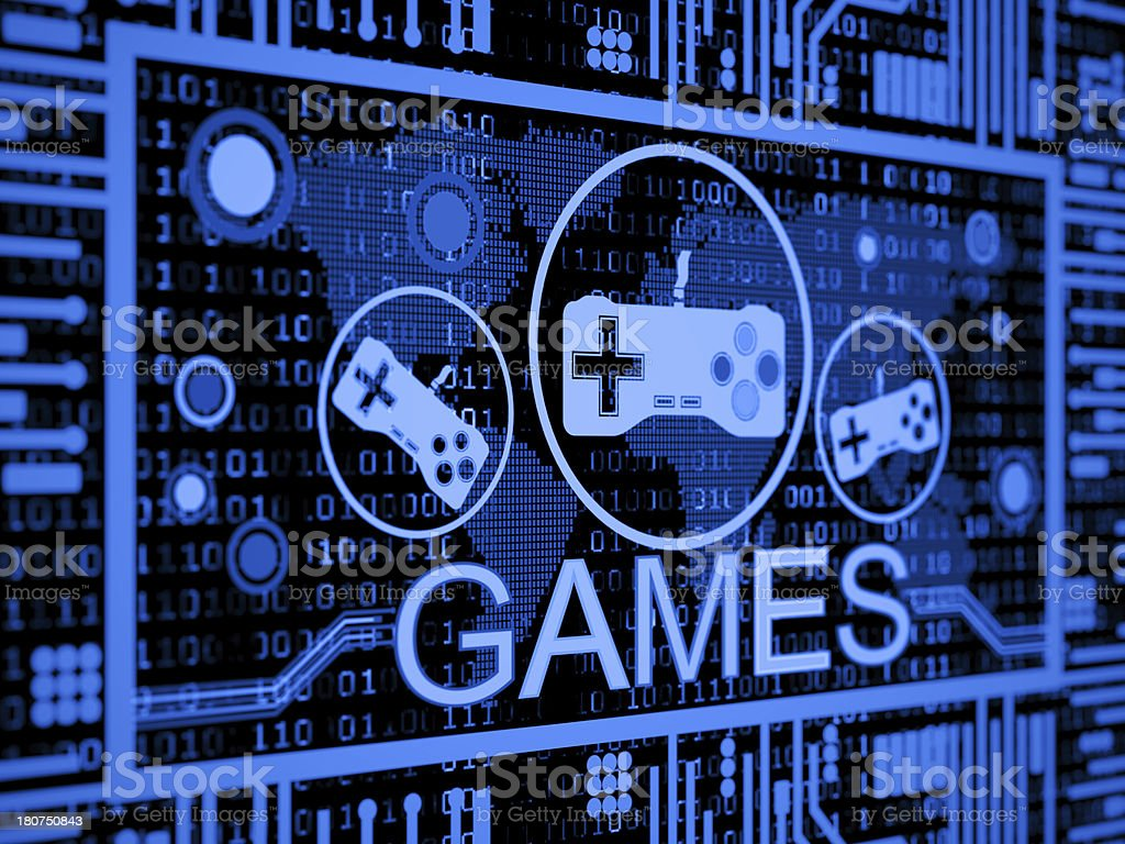 games concept royalty-free stock photo