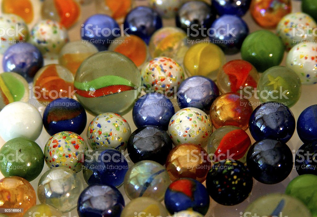 Games - Marbles 1 royalty-free stock photo