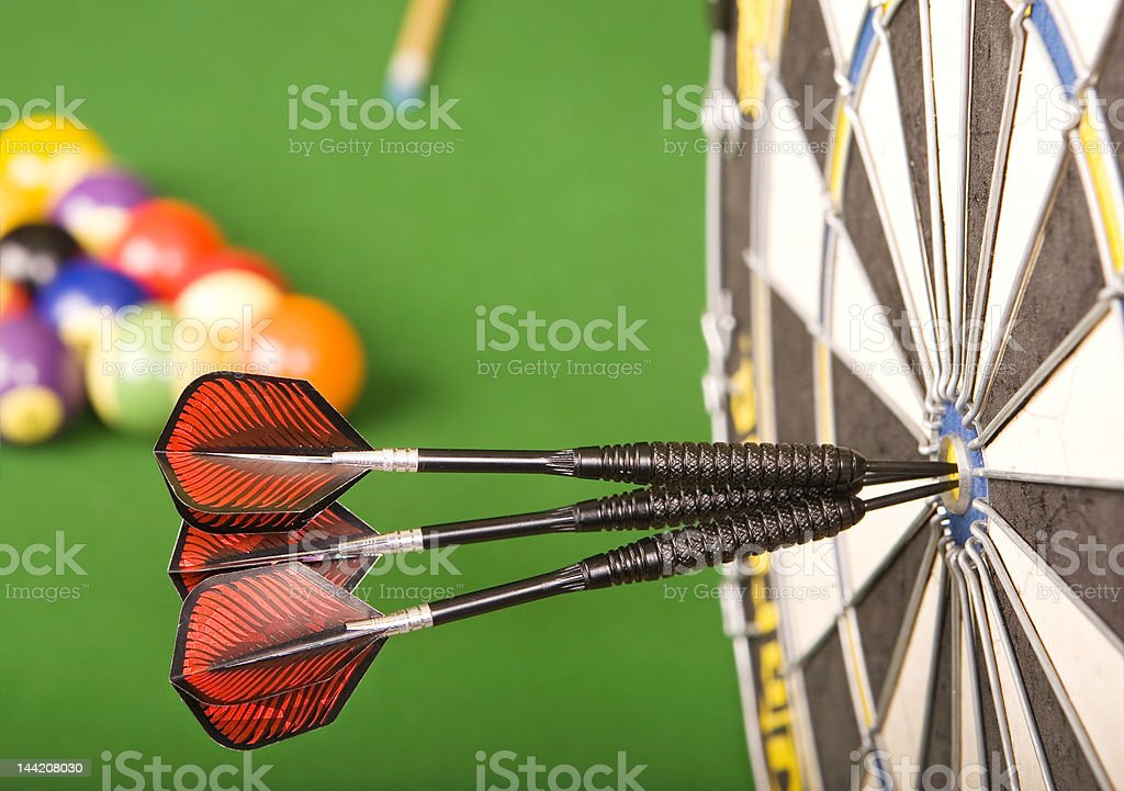 Games room royalty-free stock photo