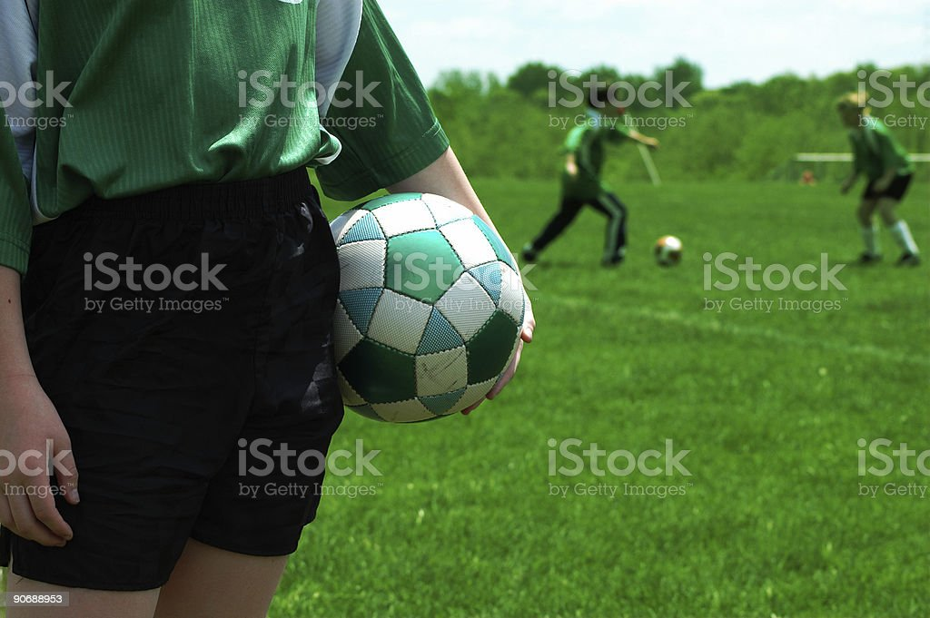games_soccer5 royalty-free stock photo