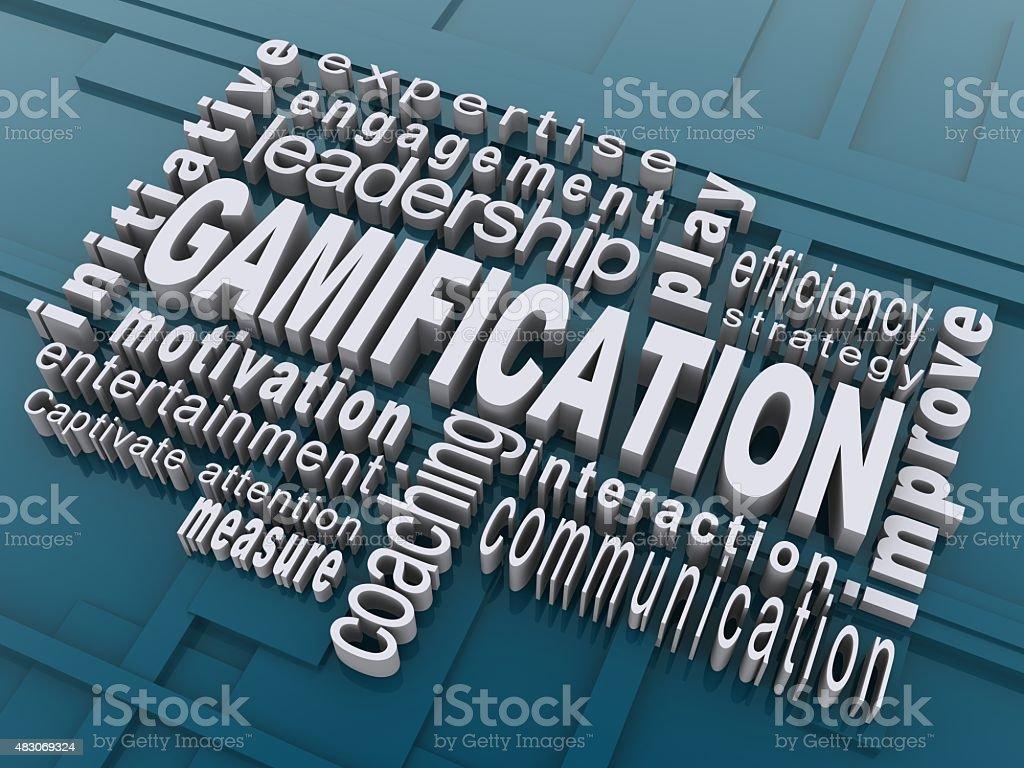 Gamification stock photo