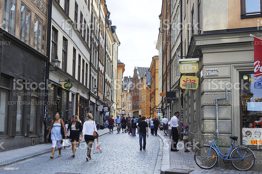Gamla Stan royalty-free stock photo