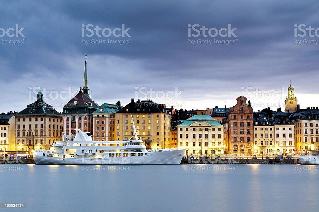 Gamla Stan, Stockholm royalty-free stock photo