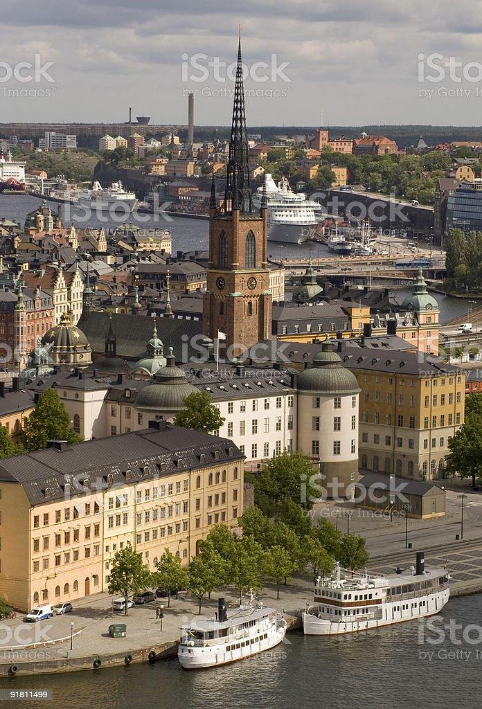 Gamla Stan, Stockholm stock photo