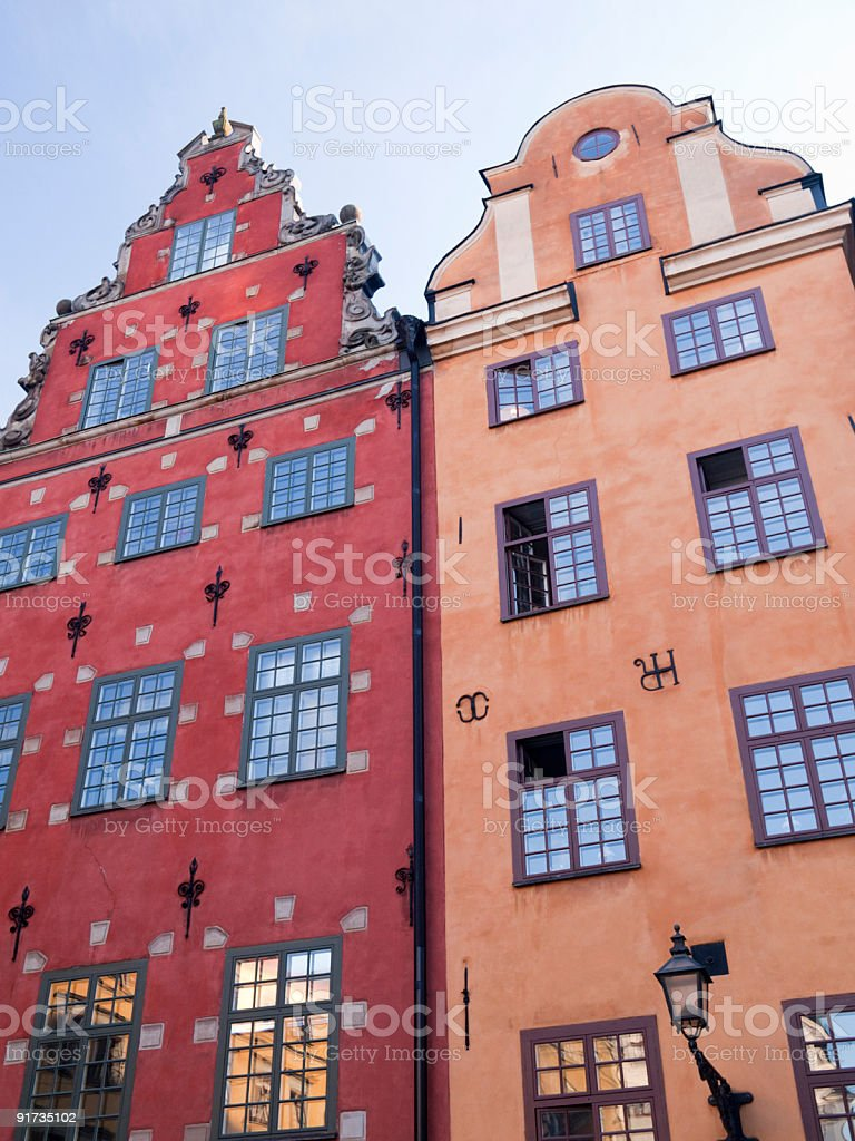Gamla Stan, Stockholm, Sweden royalty-free stock photo