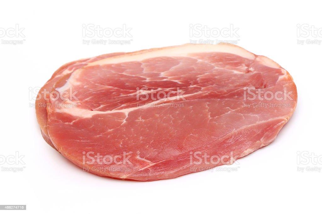 Gammon Steak stock photo