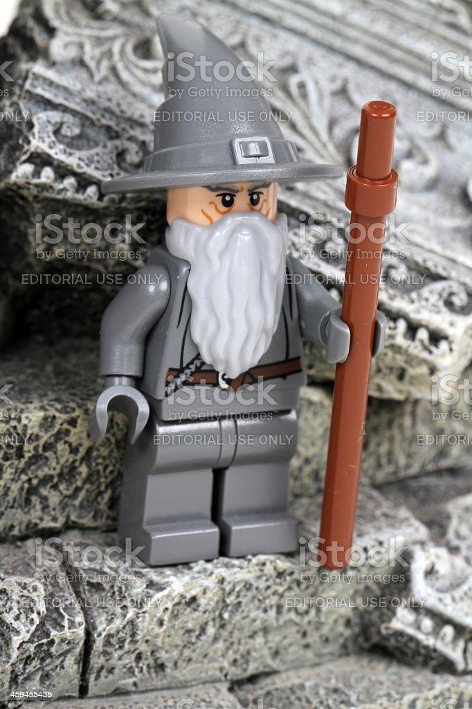 Gandalf the Gray stock photo