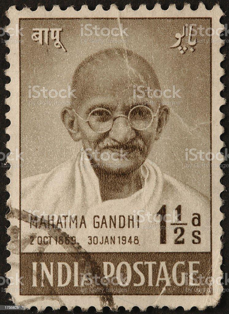 Gandhi stock photo
