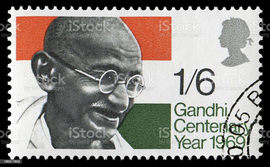 Gandhi (XXLarge) royalty-free stock photo