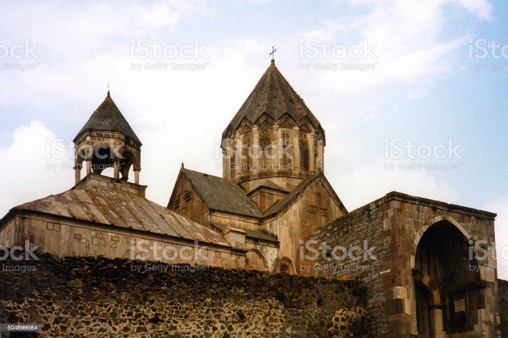 Gandzasar monastery, Nagorno-Karabakh stock photo