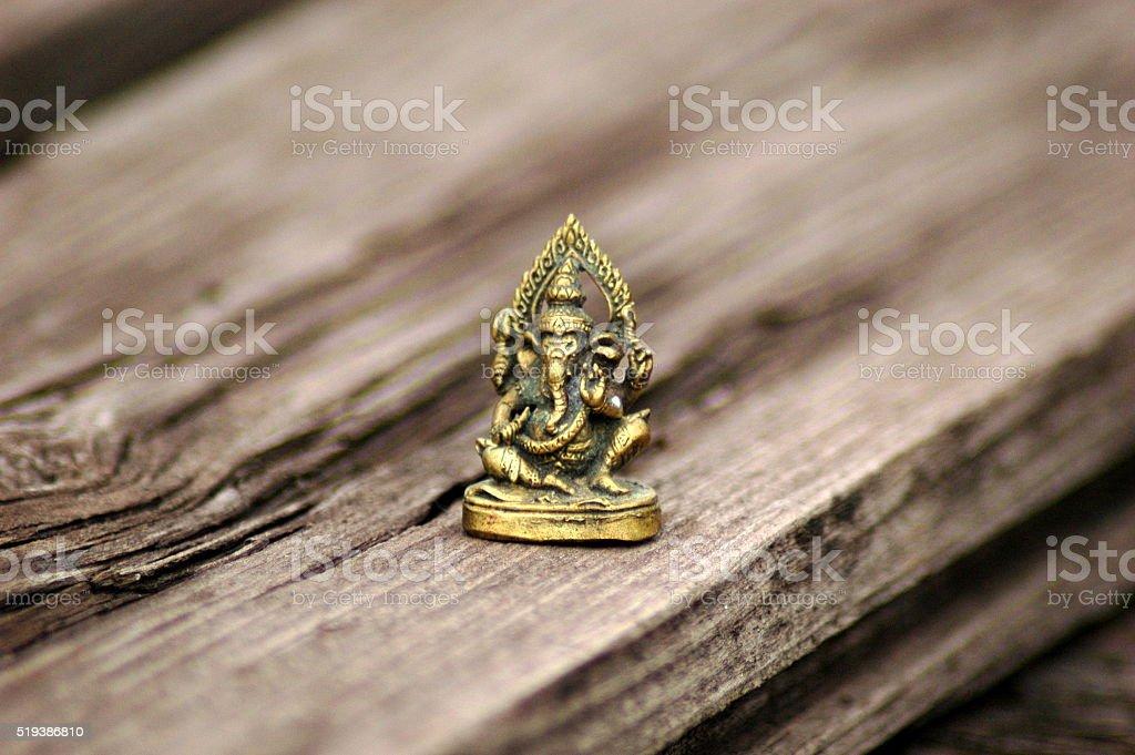 Ganesh figurine stock photo