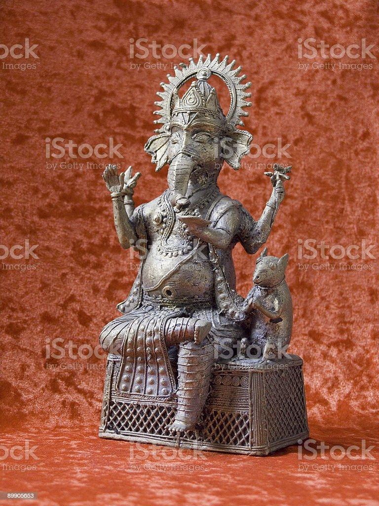 Ganesh figurine royalty-free stock photo