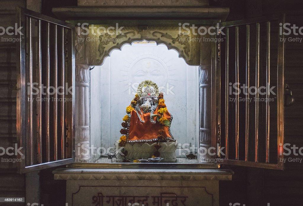 Ganesh sculpture stock photo