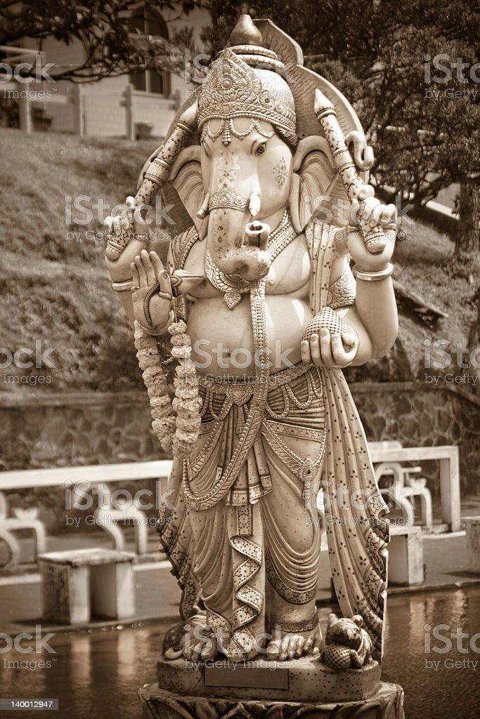 Ganesh Statue stock photo
