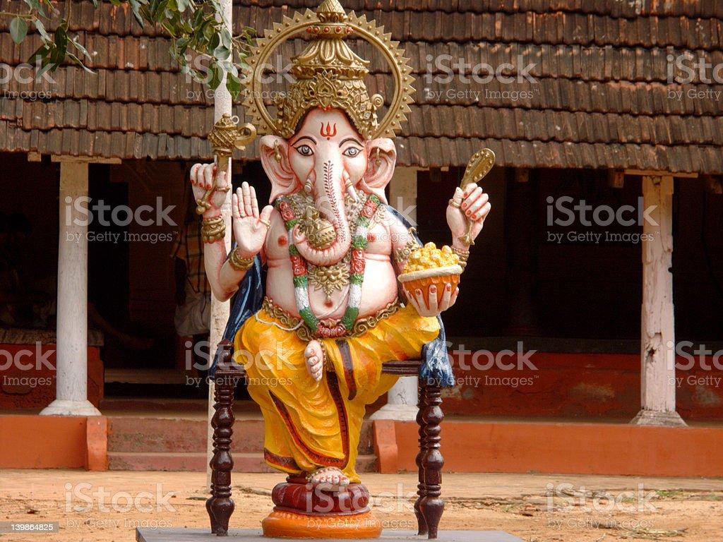 Ganesh the elephant god royalty-free stock photo