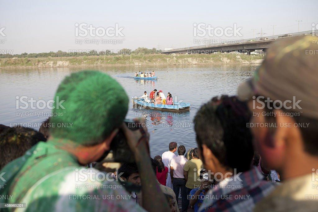 Ganesha Chaturthi, New Delhi, India royalty-free stock photo