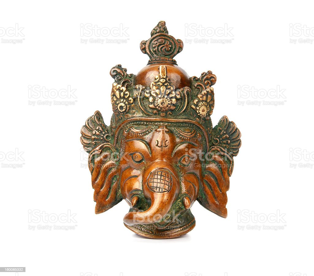 Ganesha from Copper royalty-free stock photo