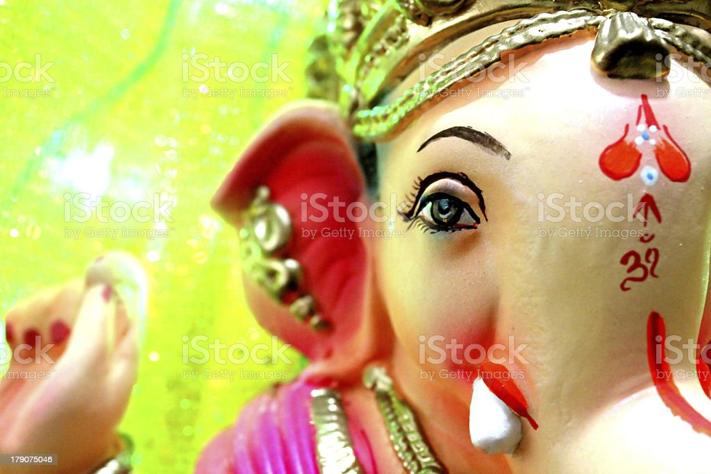 Ganesha Idol royalty-free stock photo