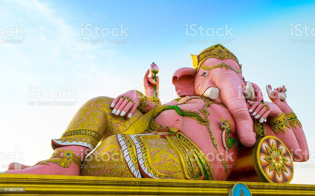Ganesha Lord of Success stock photo