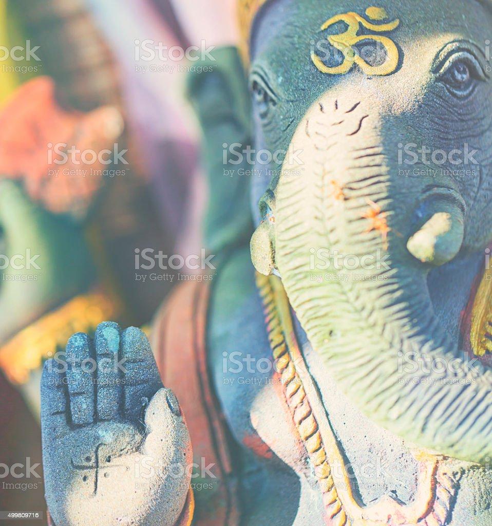 Ganesha of stone stock photo