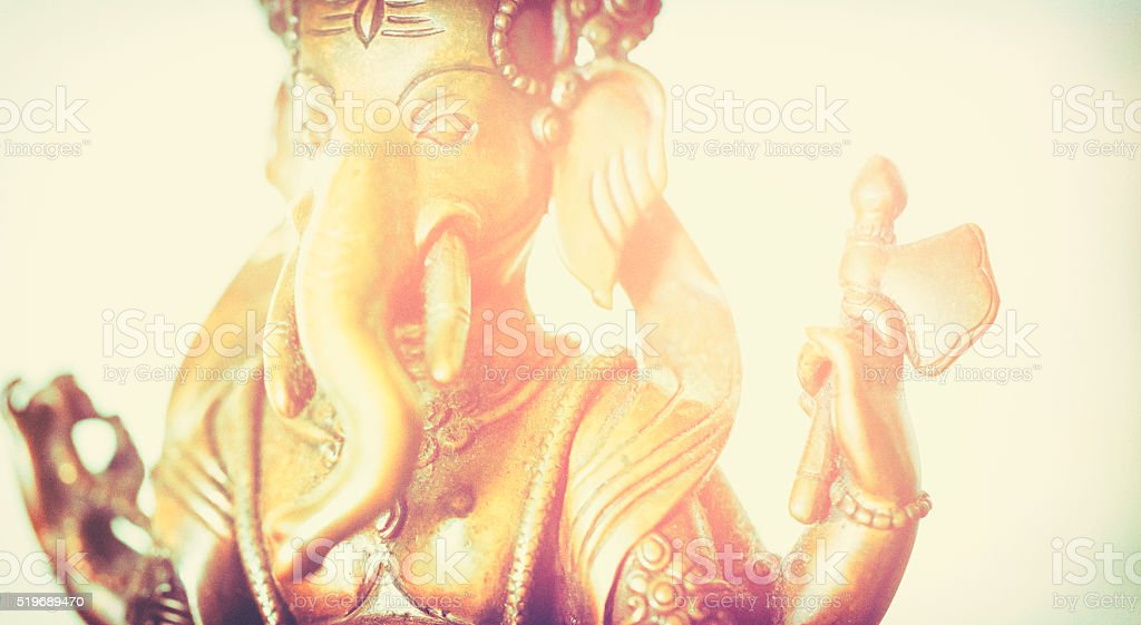 Ganesha sculpture stock photo