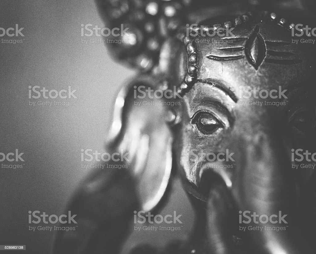 Ganesha sculpture stock photo