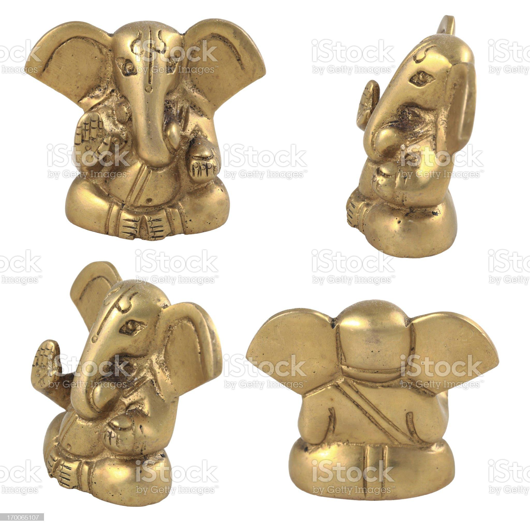 Ganesha statue royalty-free stock photo