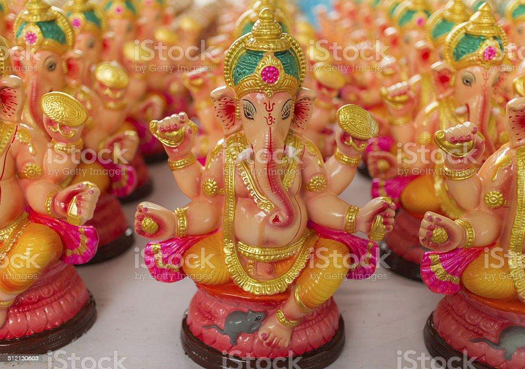 Ganesha Statue stock photo