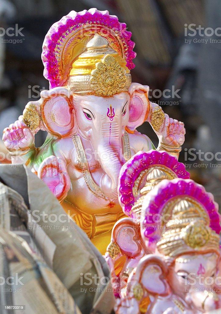 Ganesha statues royalty-free stock photo