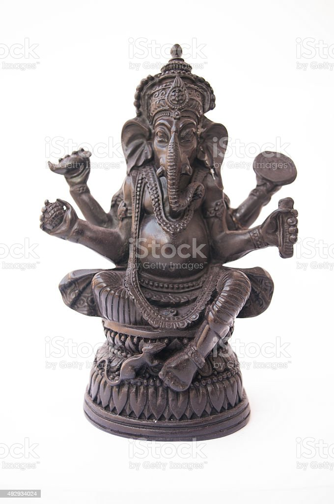 Ganesha Symbolism stock photo