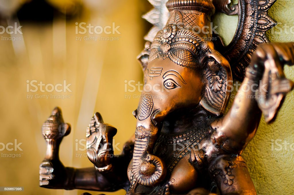 Ganesha's Gaze stock photo
