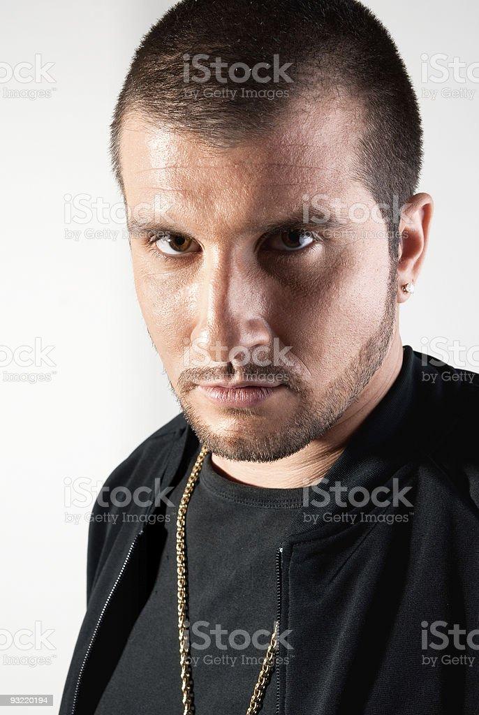Gang man royalty-free stock photo