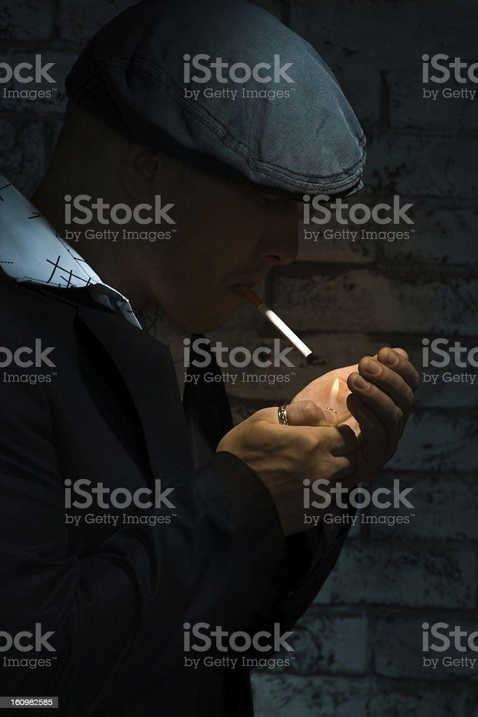 Gang member stock photo