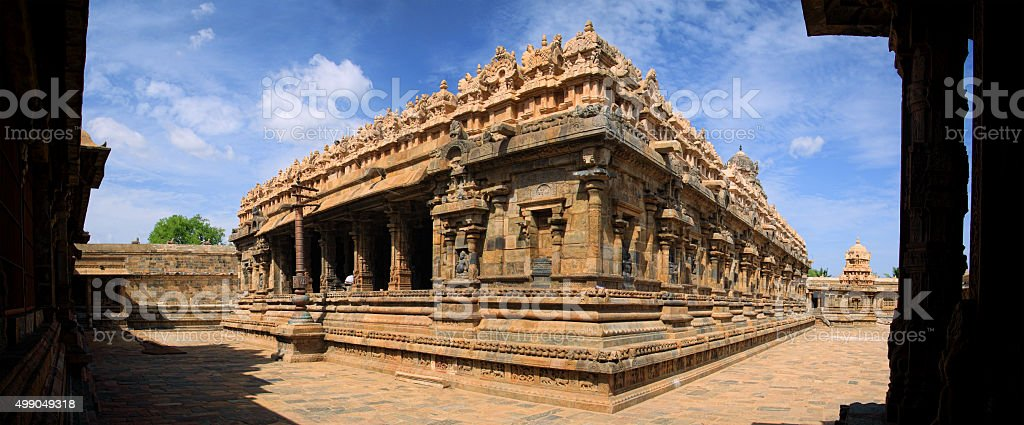 Gangaikonda cholapuram temple stock photo