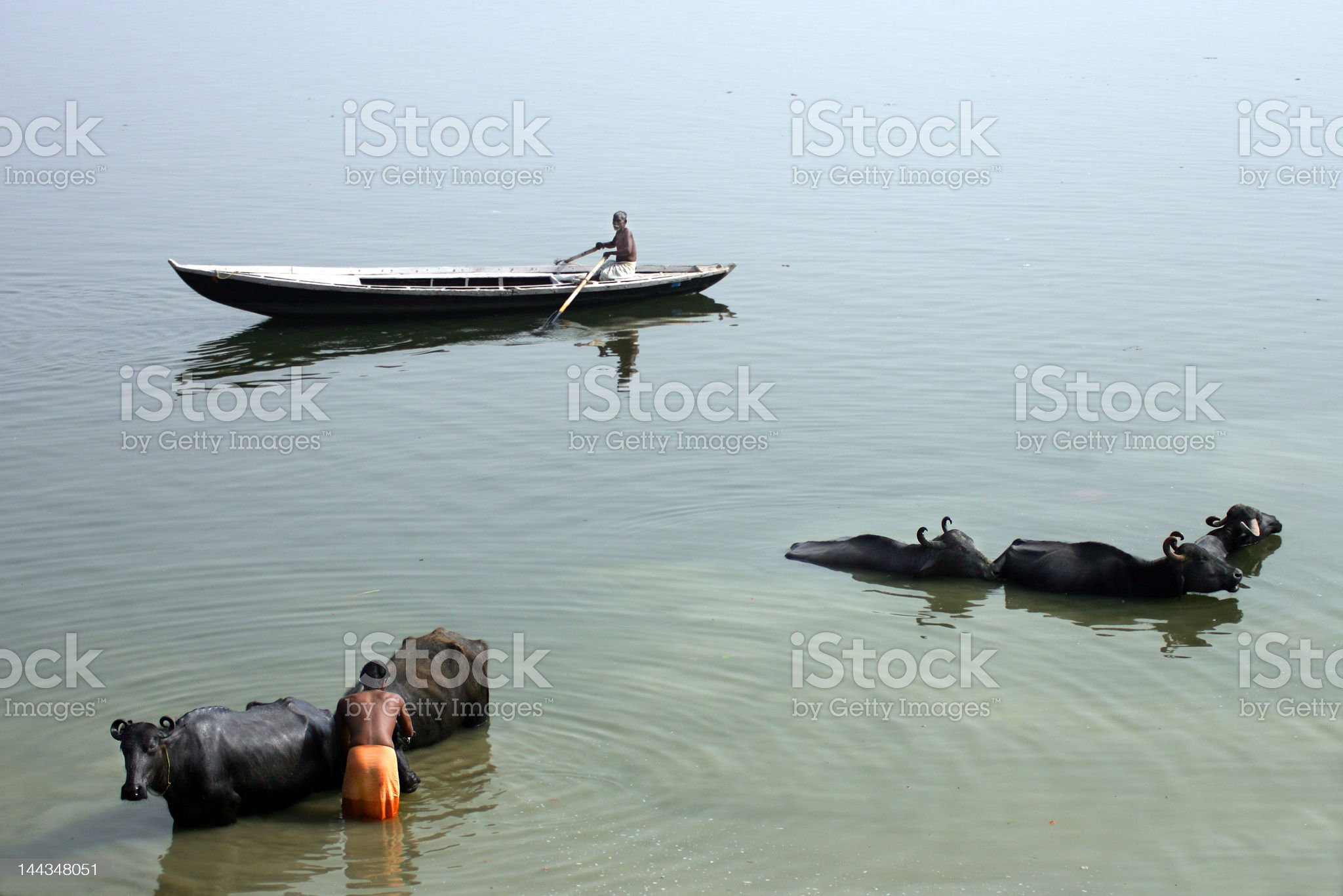 Ganges royalty-free stock photo