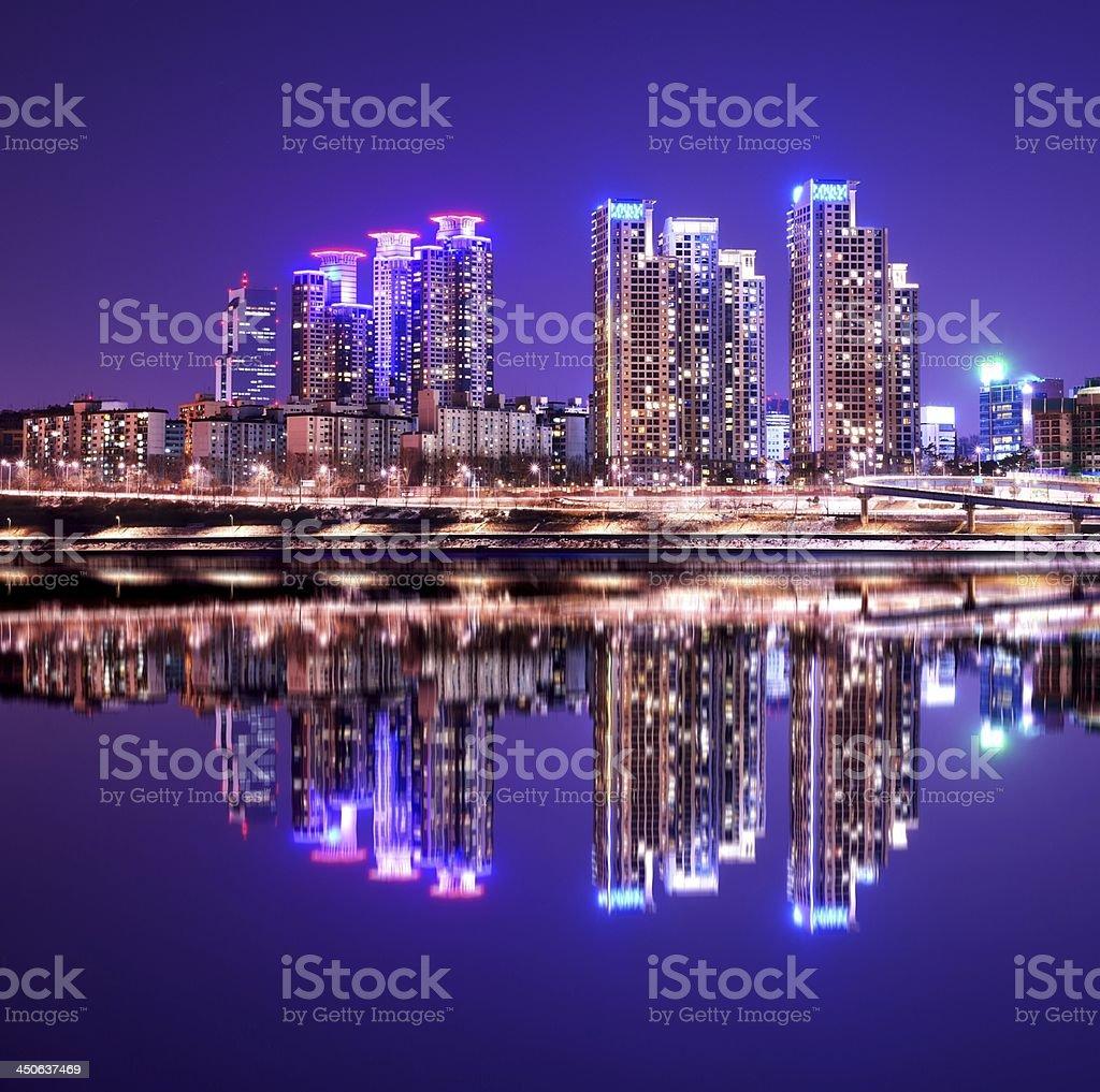 Gangnam District stock photo