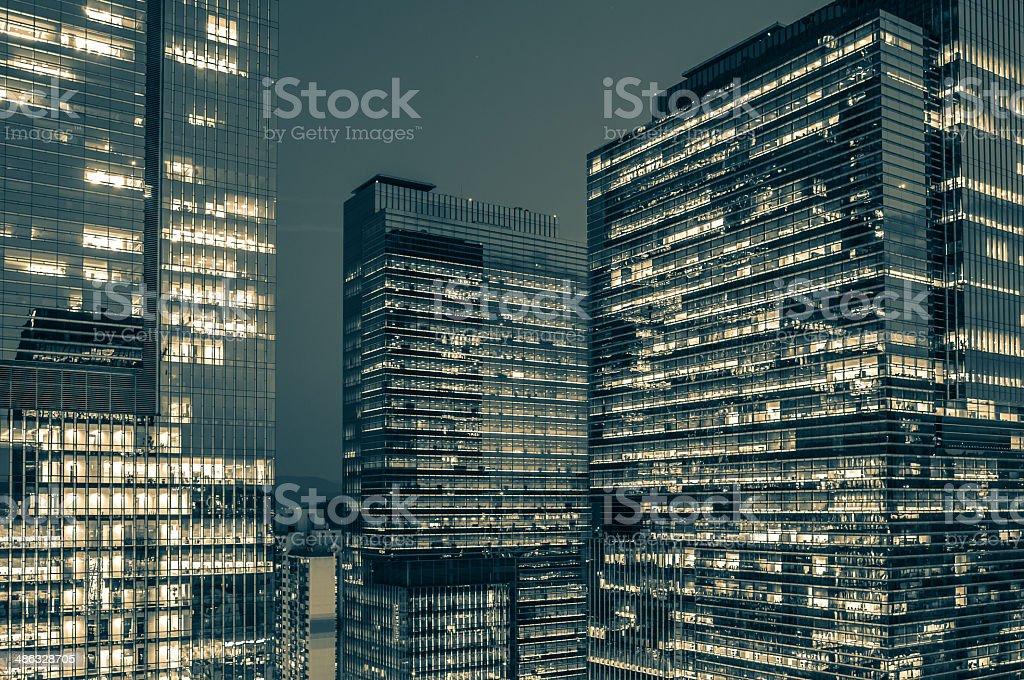 Gangnam Skyscrapers stock photo
