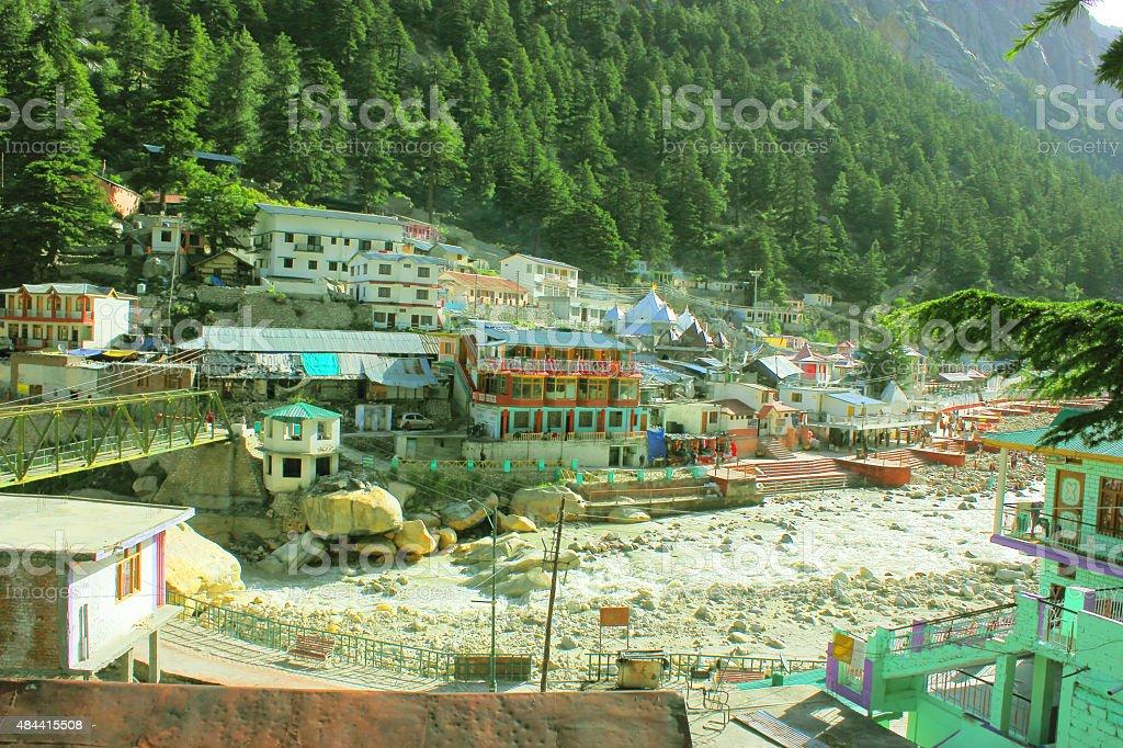 Gangotri stock photo
