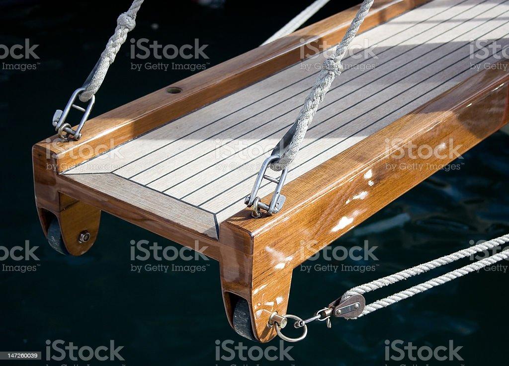 Gangplank royalty-free stock photo