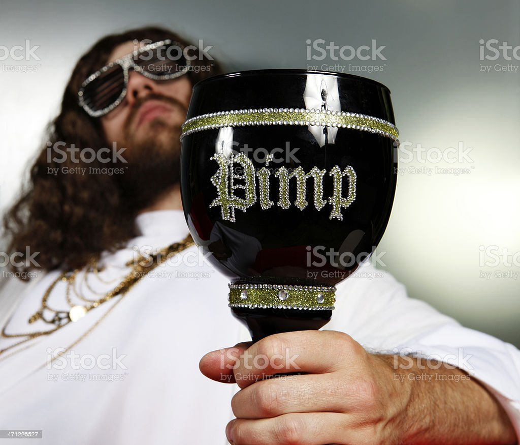 Gangsta Attitude royalty-free stock photo