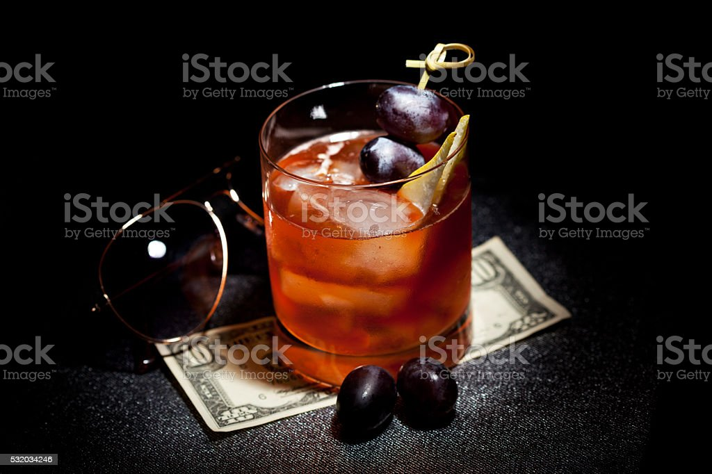 Gangsta Cocktail stock photo