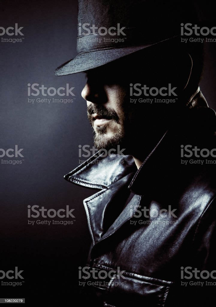 gangster incognito stock photo