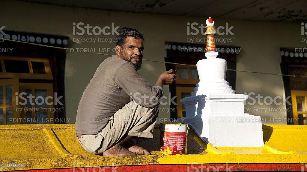 Gangtok Enchey Monastery royalty-free stock photo