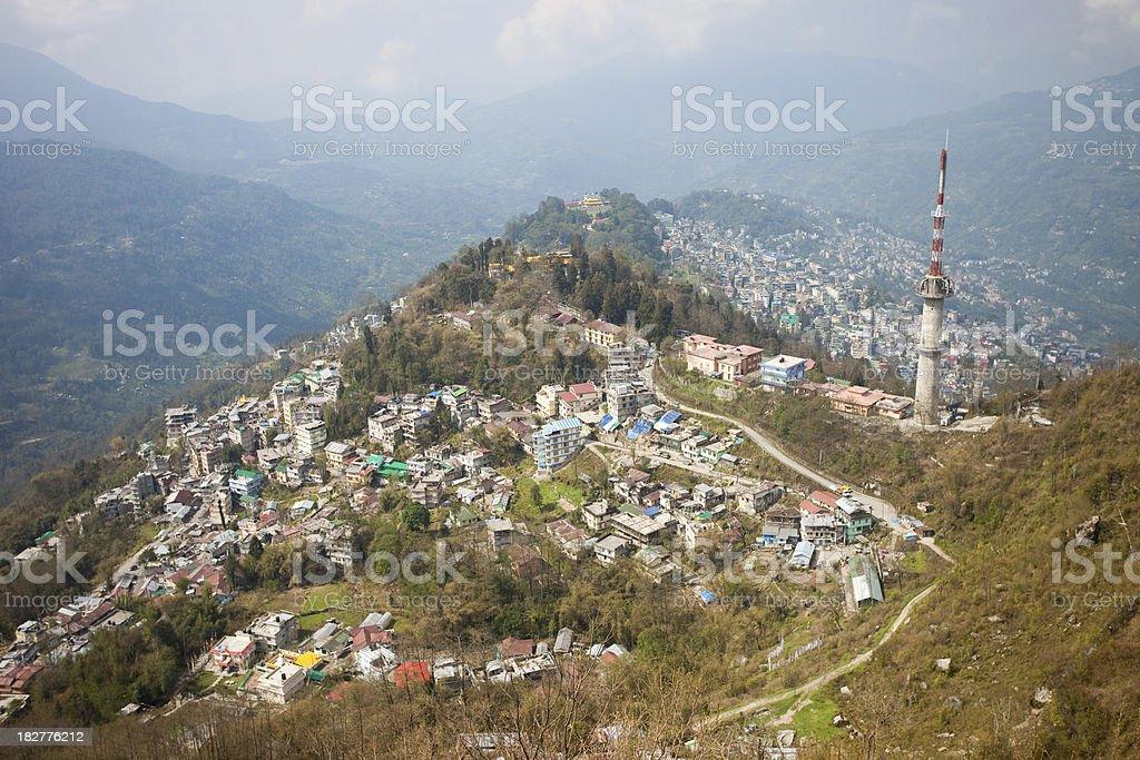 'Gangtok, Sikkim, India' stock photo